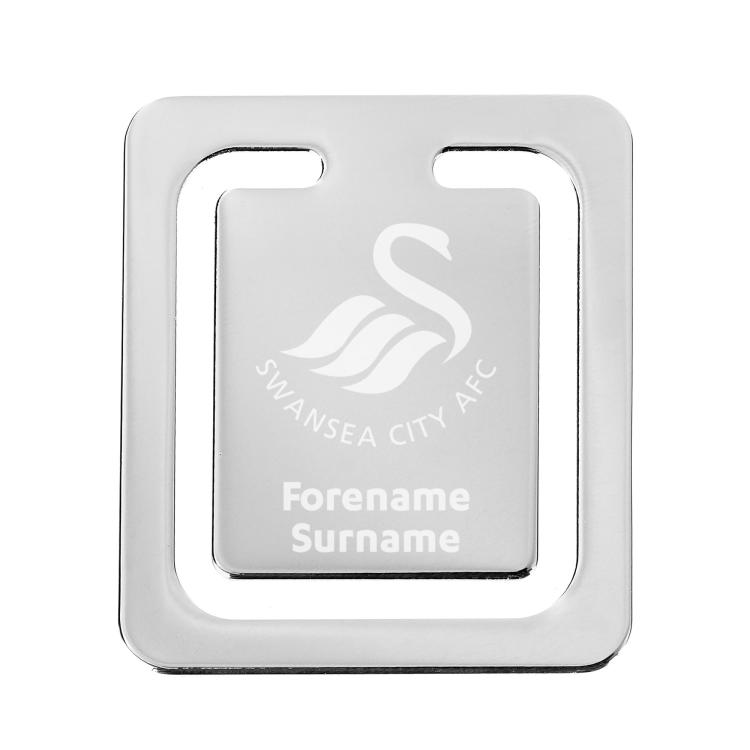Swansea City A.F.C Personalised Mouse Mat STRIPE