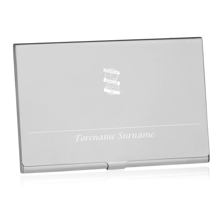 Birmingham City FC Personalised Business Card Holder