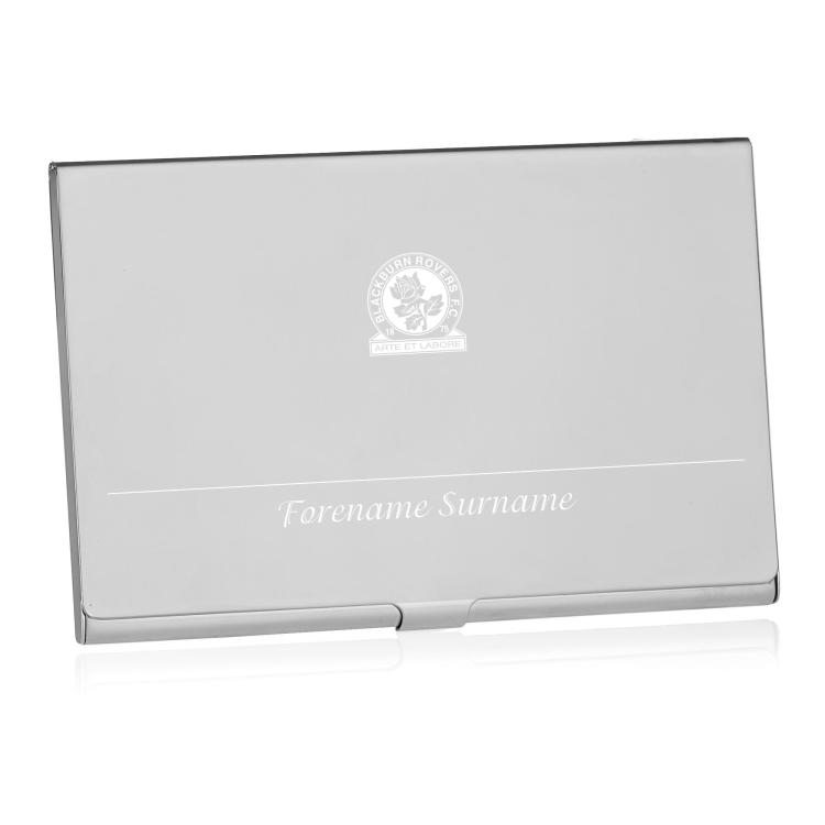 Blackburn rovers fc personalised business card holder reheart Image collections