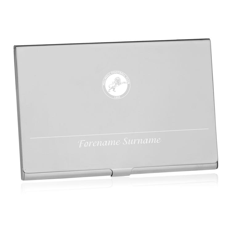 Millwall FC Personalised Business Card Holder