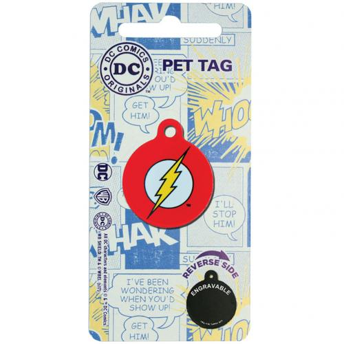 The Flash Pet Tag