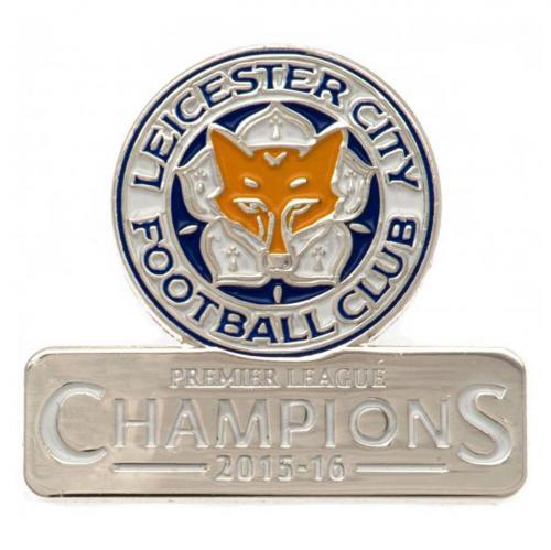 Leicester City FC Badge - Champions