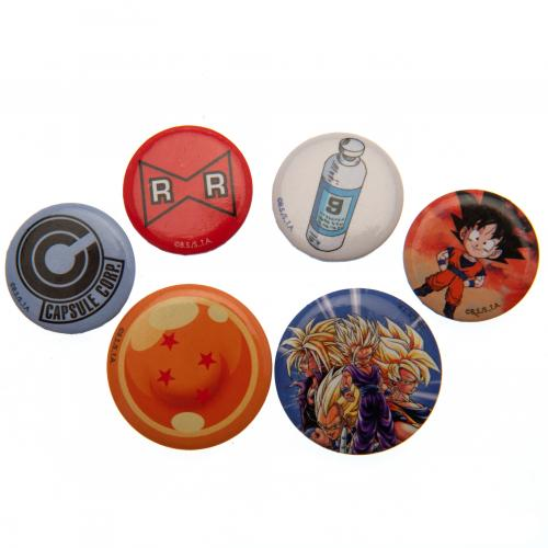 Dragon Ball Z Button Badge Set