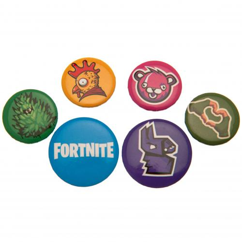 Fortnite Button Badge Set