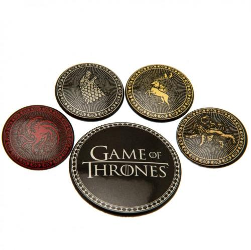 Game of Thrones Button Badge Set - Houses