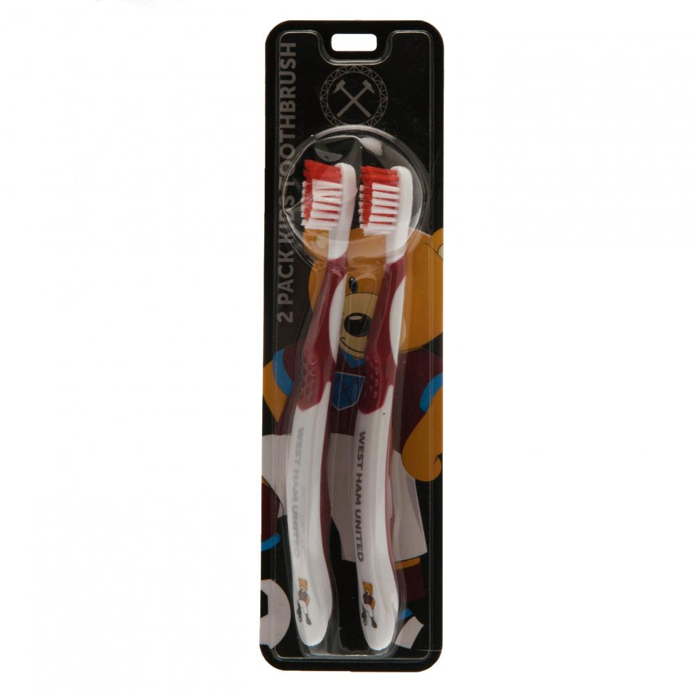 West Ham United FC Toothbrush - Junior - Twin Pack