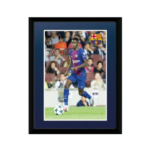 FC Barcelona Picture - Dembele - 8 x 6