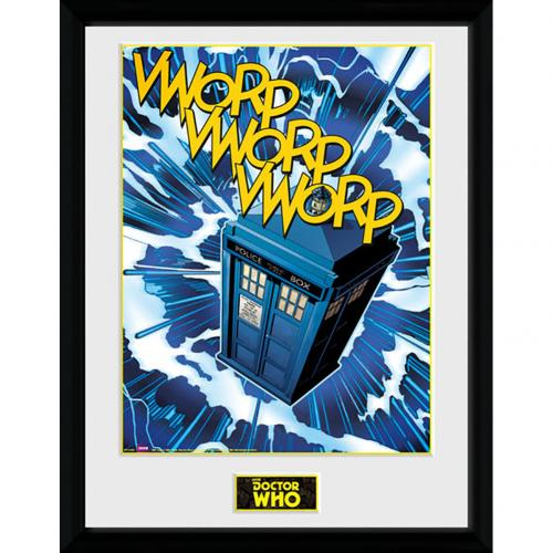 Doctor Who Picture - Tardis - 16 x 12