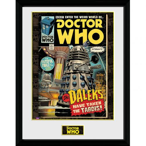 Doctor Who Picture - Comic - 16 x 12