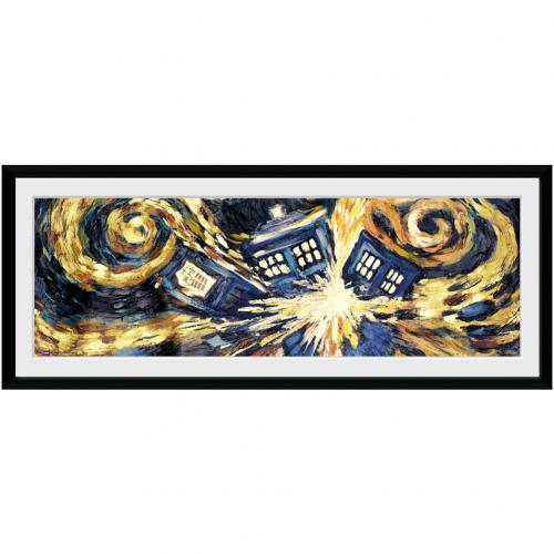 Doctor Who Picture - Tardis - 30 x 12