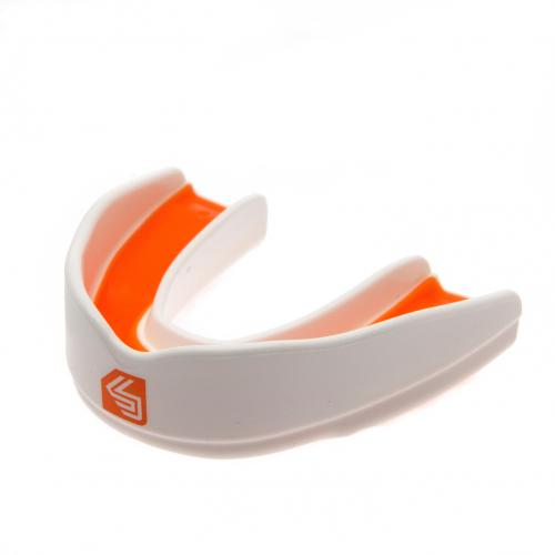 Shock Doctor Ultra Rugby Mouthguard - Youths - White / Orange