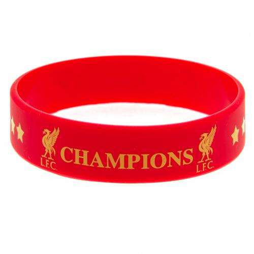 Liverpool FC Silicone Wristband - Champions of Europe