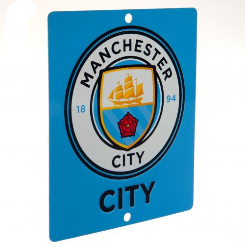 Manchester City FC Window Sign - SQ