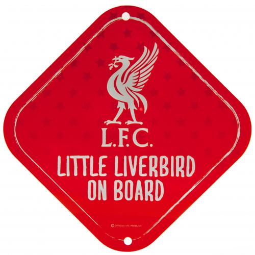 Liverpool FC Little Dribbler Metal Sign