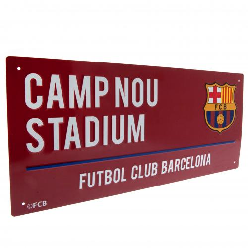 FC Barcelona Street Sign - CL