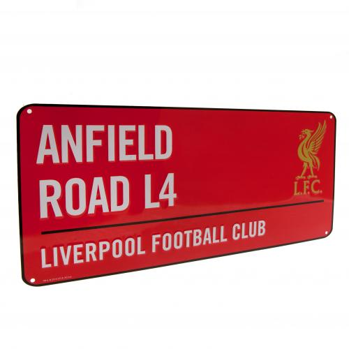 Liverpool FC Metal Street Sign - RD