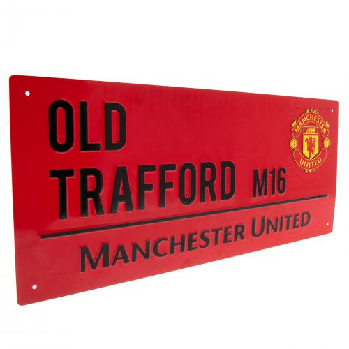 Manchester United FC Street Sign - RD