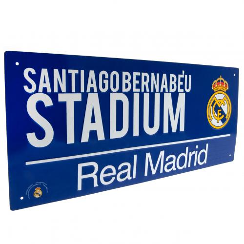 Real Madrid FC Street Sign - BL