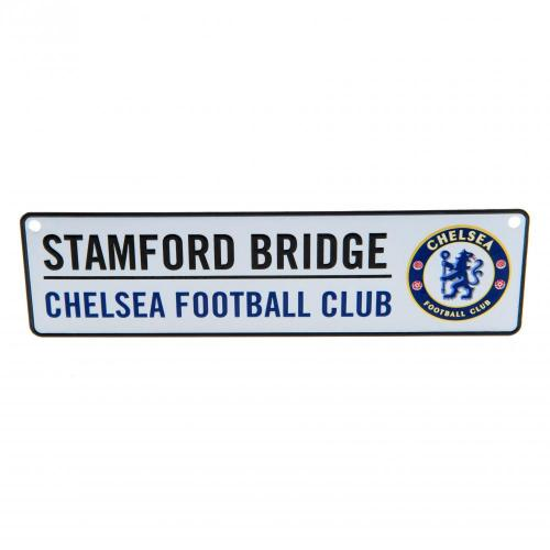 Chelsea FC Metal Window Sign
