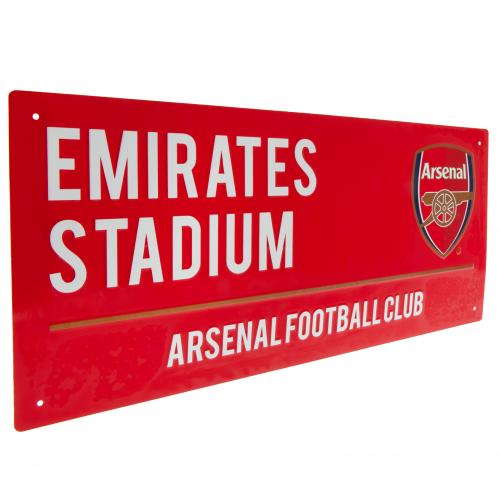 Arsenal FC Metal Street Sign - RD