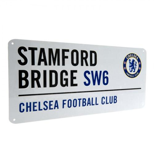 Chelsea FC Metal Street Sign