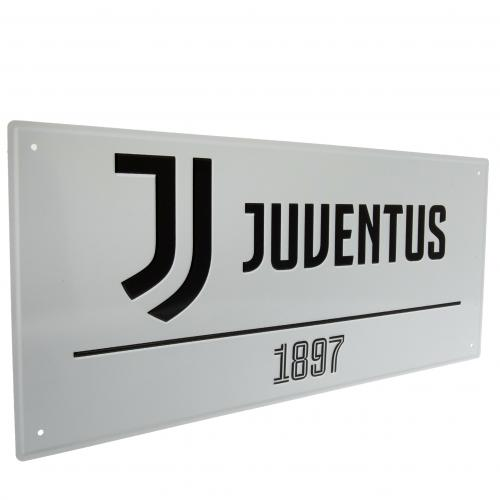 Juventus FC Metal Street Sign
