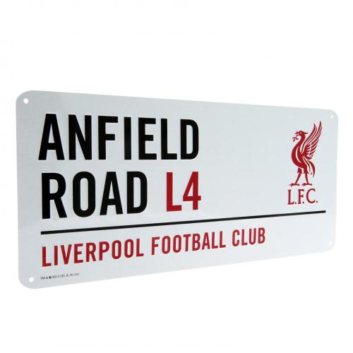Liverpool FC Metal Street Sign - LB