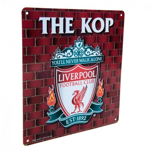 Liverpool FC The Kop Metal Sign