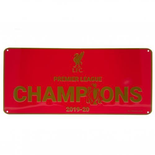 Liverpool FC Premier League Champions Sign - RD