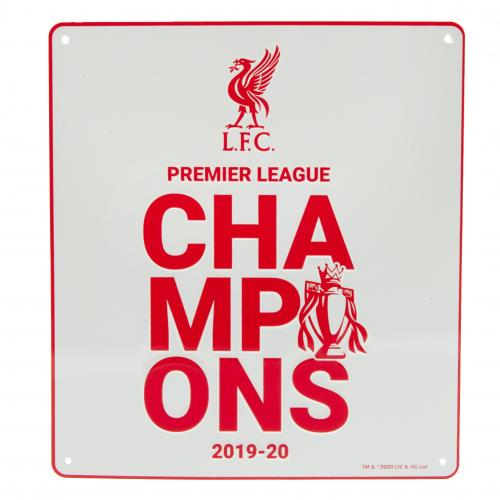 Liverpool FC Premier League Champions Sign - WT