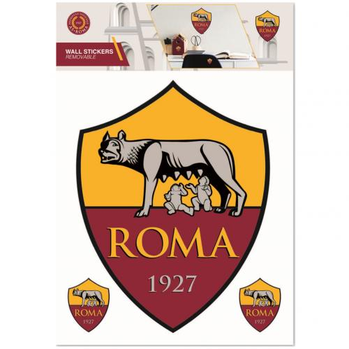 AS Roma Wall Sticker - A4