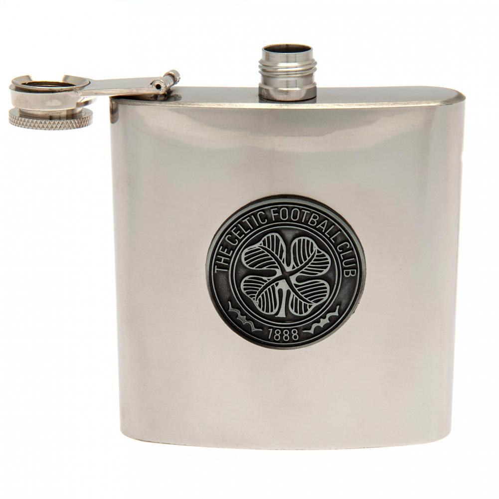 Official PERSONALISED Nottingham Forest FC Vintage Hip Flask