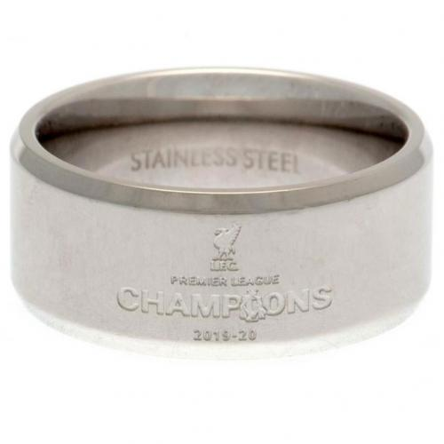 Liverpool FC Premier League Champions Band Ring - Large