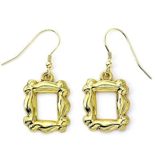 Friends Gold Plated Earrings - Frame