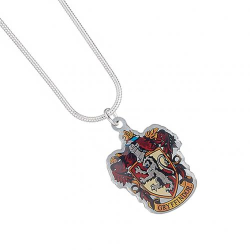 Harry Potter Silver Plated Necklace - Gryffindor