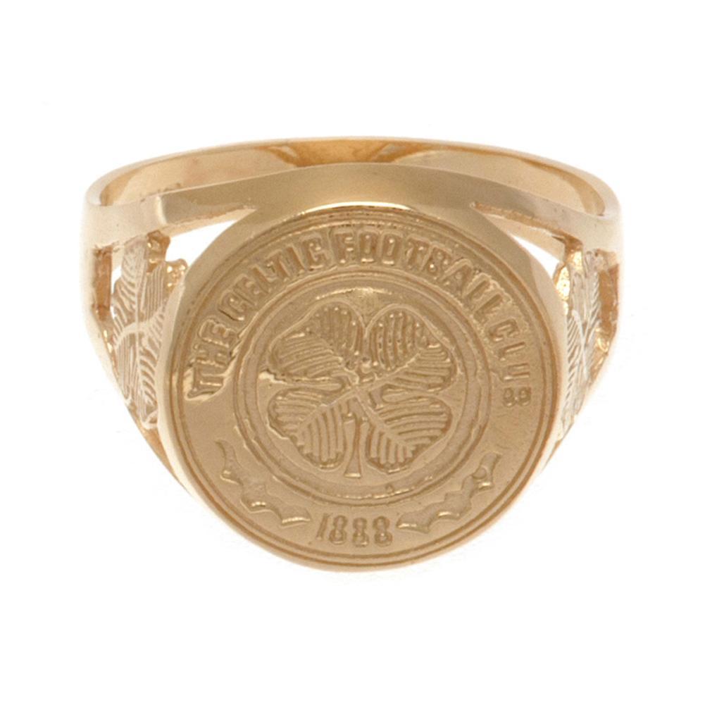 Ct Gold Celtic Fc Ring