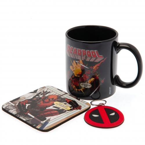 Deadpool Mug and Coaster Set