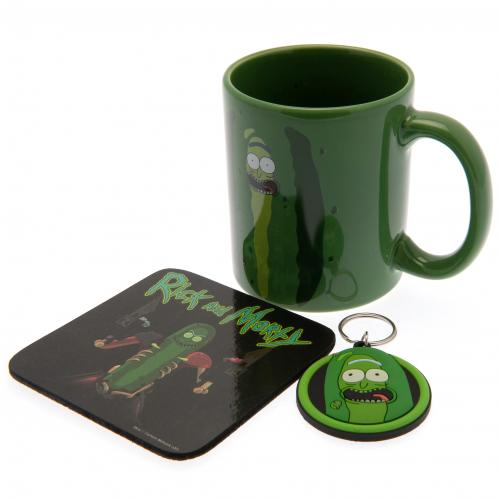 Rick and Morty Mug and Coaster Set