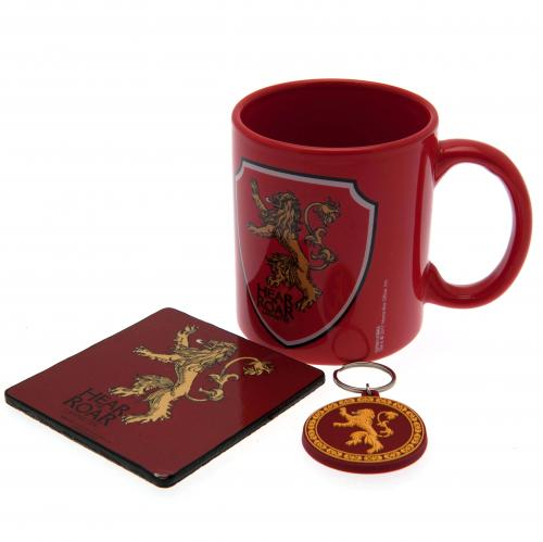 Game of Thrones Mug and Coaster Set - Lannister
