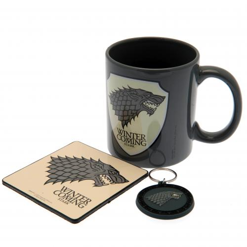 Game of Thrones Mug and Coaster Set - Stark